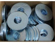 Boîte 50 Rondelles acier zingué extra-larges LL18 OMNIVIS - 19 x 55 x 3 mm - REA50021