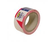 Ruban de délimitation non-adhésif rouge et blanc 50mm x 100m HPX - B50100