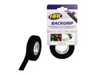 Back grip noir HPX - 16mm x 5m - BG1605