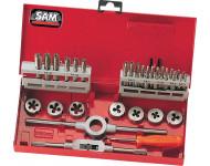 Coffret de tarauds et filieres - 31 pieces SAM - CTF31