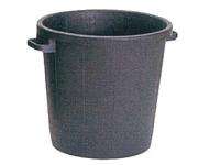 Poubelle à gravats VINMER - 80L - noire - 391080