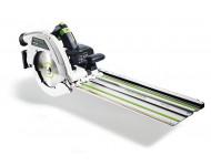 Scie circulaire FESTOOL HK 85 EB-PLUS capot basculant + Rail de guidage FSK420 - 574665