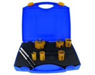 Coffret trépan muti-construstion RISS ProFit - Ø 22 à 68 mm - 2 forets Ø 8 et 10 mm - 09082268D