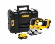 Scie sauteuse DEWALT 18V XR 5Ah + 2 batteries + chargeur - DCS334P2