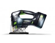 Scie sauteuse FESTOOL CARVEX PSCB 420 Li 18 - Batterie 5.2 Ah lion, chargeur + Systainer d'accessoires - 201386