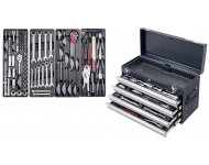 "Boîte à outils Basic-Line 1/4 +1/2"" KRAFTWERK - 100 pièces - 206.100.000"
