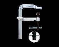 Presse haute performance STBM - BESSEY - serrage 1000 mm - saillie 175 mm - Rail 40x20 mm  - STB100