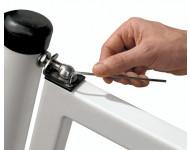 Paire de Charnières ferme-porte automatique pour tube de 40 mm LOCINOX - SWING-40-130