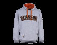 Sweat-shirt à capuche Tokko BOSSEUR - gris-chiné - 11256