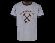 T-shirt Métier BOSSEUR - gris-chiné - 11268