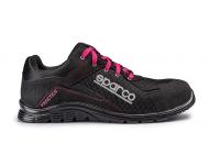 Chaussure de sécurité S24 SPARCO Pratice - Noir fushia - 07517