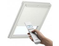 Store occultant VELUX Télécommandé avec alimentation solaire - Beige - DSL