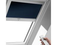 Store occultant VELUX Télécommandé avec alimentation solaire - Bleu - DSL