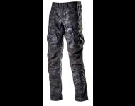 Pantalon Cargo Camo DIADORA UTILITY - imprimé camouflage gris - résistant + triples coutures + tissu rip-stop -