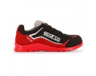 Chaussure basse S3 Sparco Nitro S24 - rouge et noir - NITRO 07522 RSNR