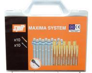 Coffret Maxima M10 (tige + capsule) SPIT - 050062
