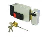 Serrure électronique horizontale à bouton CISA 12V AXE 60mm CYL 50mm Gauche NORMBAU - 3005322000