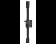 Serrure verticale Beluga THIRARD - Cylindre profil européen - 3 points - 75x130 - Tirage - Droite - marron - 049410