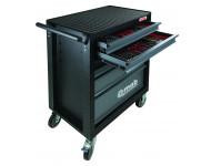 Servante Classic - Garnie 173 pièces - 3 modules 6 tiroirs -  MOB MONDELLIN - 9523173601