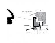 Joint ISL EPDM BILCOCQ - mètre linéaire - ISL-J-CR