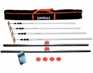 Kit de protection de chantier HILAIRE ZipWall - 4 perches - ZIP-SLP4