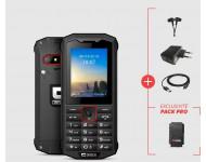 Pack Pro smartphone CROSSCALL SPIDER X4 en boîte sous blister - SPX4.PACK.BB.NN000