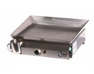 Plancha à gaz MIMA 1 feu - Plaque INOX et caisson EPOXY - MI3