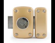 Verrou B5 bouton - cylindre 45mm s'entrouvrant KA1 3 clés - IFAM - 26452