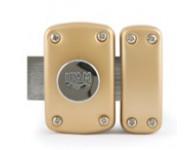 Verrou B5 bouton - cylindre 50mm 3 clés - IFAM - 26500