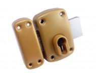 Verrou X5 pour cylindre européen livré avec gabarit de pose et rosace - IFAM - 26000