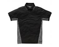 Polo Duo Tone 100% coton 280gr SH2004 DICKIES - gris/noir - taille XXL