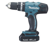 Perceuse visseuse à percussion MAKITA18V 1.5 Ah Li-Ion Ø13 mm En coffret MAK-PAC - DHP453RYJ