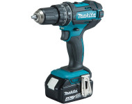 Perceuse à percussion MAKITA 18V 4.0Ah - 2 batteries, chargeur, coffret - DHP482RMJ