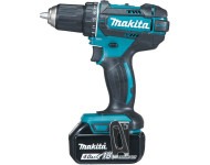 Perceuse visseuse MAKITA 18V Li-Ion 4.0Ah - 2 Batteries, chargeur, en coffret - DDF482RMJ