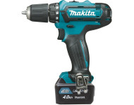 Perceuse visseuse MAKITA CXT - 2 batteries 10,8 V Li-Ion 4.0 Ah, chargeur, coffret - DF331DSMJ