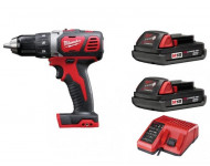 Perceuse visseuse MILWAUKEE M18 BDD-152C - 18V 1.5Ah - 2 Batteries, chargeur - 4933451415