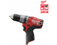 Perceuse visseuse à percussion MILWAUKEE M12 CPD-0 12V - Sans batterie ni chargeur - 4933440380