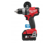 Perceuse Visseuse Fuel 18V 5Ah Bluetooth M18 ONEDD-502X MILWAUKEE - 4933451149