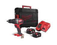 Perceuse à percussion Brushless 18V 5.0Ah 85NM M18 BLPD2-502X MILWAUKEE - 4933464517