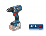 Perceuse Visseuse BOSCH GSR 18 V-LI - Sans batterie, ni chargeur - 06019E8103