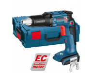 Visseuse plaquiste BOSCH GSR 18V-EC TE - Sans chargeur ni batterie - Coffret L-Boxx - 06019C8004