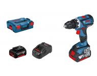 Perceuse visseuse BOSCH GSR 18V-60C - 2 Batteries 18V 5.0Ah, chargeur, coffret - 06019G1101