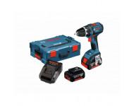 Perceuse visseuse BOSCH GSR 18V - 2 batteries, chargeur, coffret - 0615990GU5