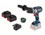 Perceuse visseuse BOSCH GSR 18V-85 C + 2 batteries ProCore 7.0Ah + chargeur + module Bluetooth - 0615990K18