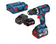 Perceuse visseuse GSB 18V-60 C BOSCH - batterie 2x5.0Ah + Procore 18V 4.0Ah - 0615990K7N