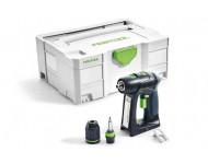 Perceuse visseuse FESTOOL sans fil C 18 Basic - Sans batterie, ni chargeur - 574737