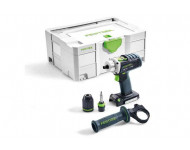 Perceuse visseuse FESTOOL DRC 18/4 Li-Basic - Sans batterie, ni chargeur - Coffret Systainer 2 - 574695