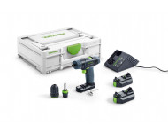 Perceuse visseuse sans fil TXS 2.6-Plus 10mm + 2 Batteries FESTOOL - 576101