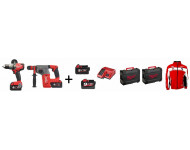 Pack 2 outils Perceuse + Perforeur M18FPP2Y-953X MILWAUKEE - 4933459783