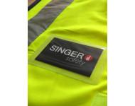Porte badge adhésif SINGER - ACCBADGE